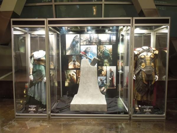 Thor 2 Dark World movie costume prop exhibit