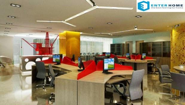 enterhome thiết kế nội thất văn phòng giá rẻ ở hà nội