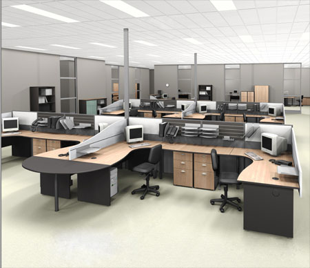 High rated office designs office furniture design in for Office design furniture layout