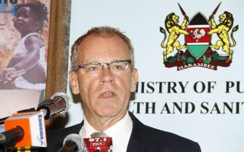 Tuesday,the 2nd of April 2013 - Denmark's Ambassador to Kenya Geert