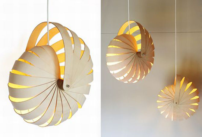 nautilus minimalist lighting design