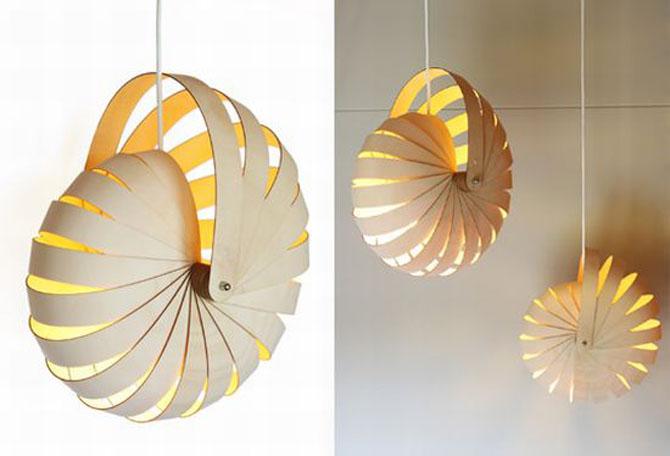 nautilus minimalist lighting design
