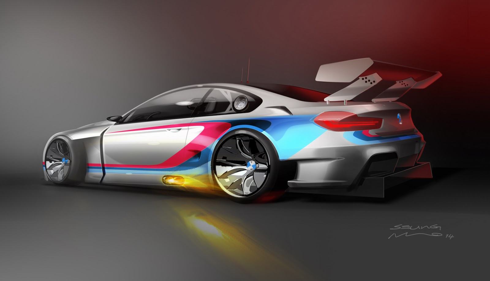Bmw Gives M6 Coupe A Racing Chance With New Gt3 Carscoops