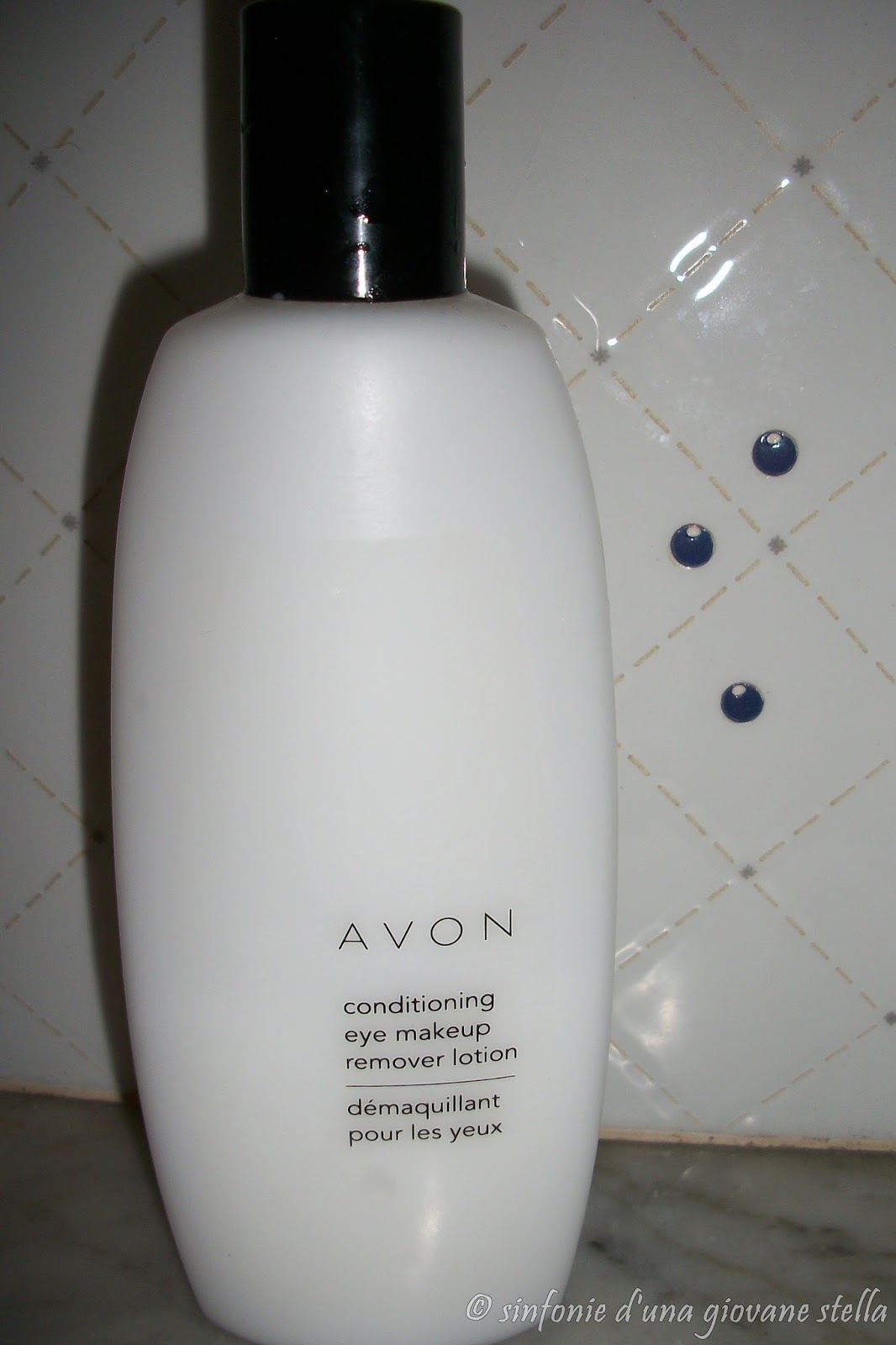 review ● avon conditioning eye makeup remover lotion