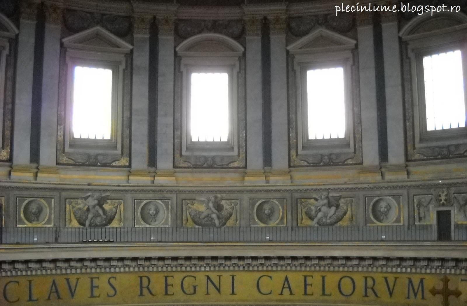 Baza cupolei San Pietro