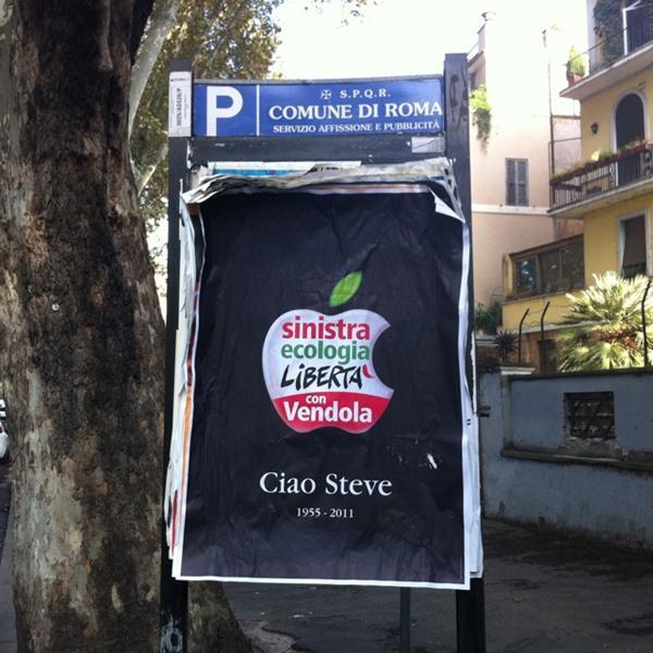 Sinistra e Libertà per Steve Jobs