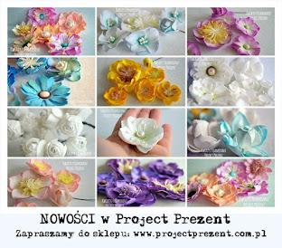Moje kwiaty w Project Prezent