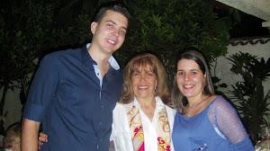 Loly Señaris Calviño , José Gregorio Gontan y Lilibeth Macias