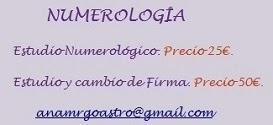 Numerología - Firma