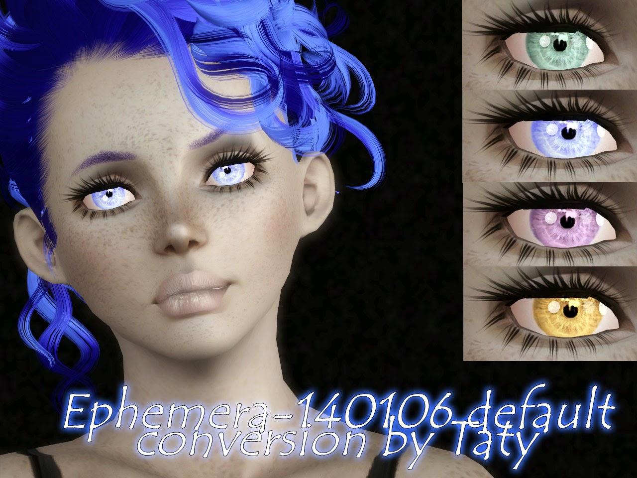 My Sims 3 Blog Mermaid Blush Eyes And Body Amp Face Makeup