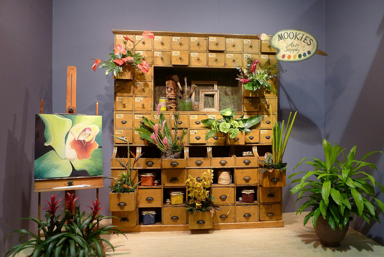 Hamptons Garden Aloha From The Philly Flower Show