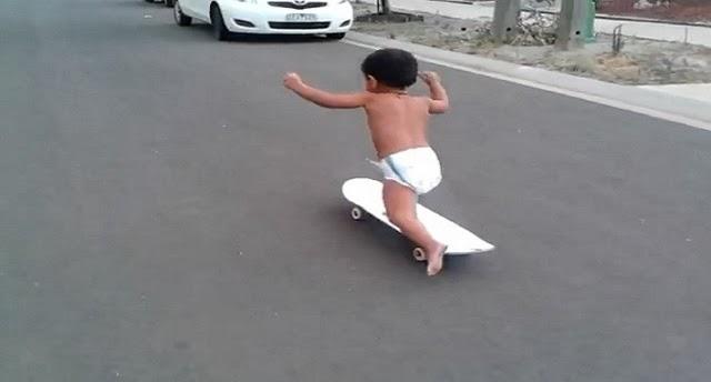 Pemain Skateboard Termuda di Dunia.