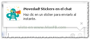 Stickers Facebook 2013