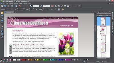 Free Download Xara Web Designer Premium Version 9
