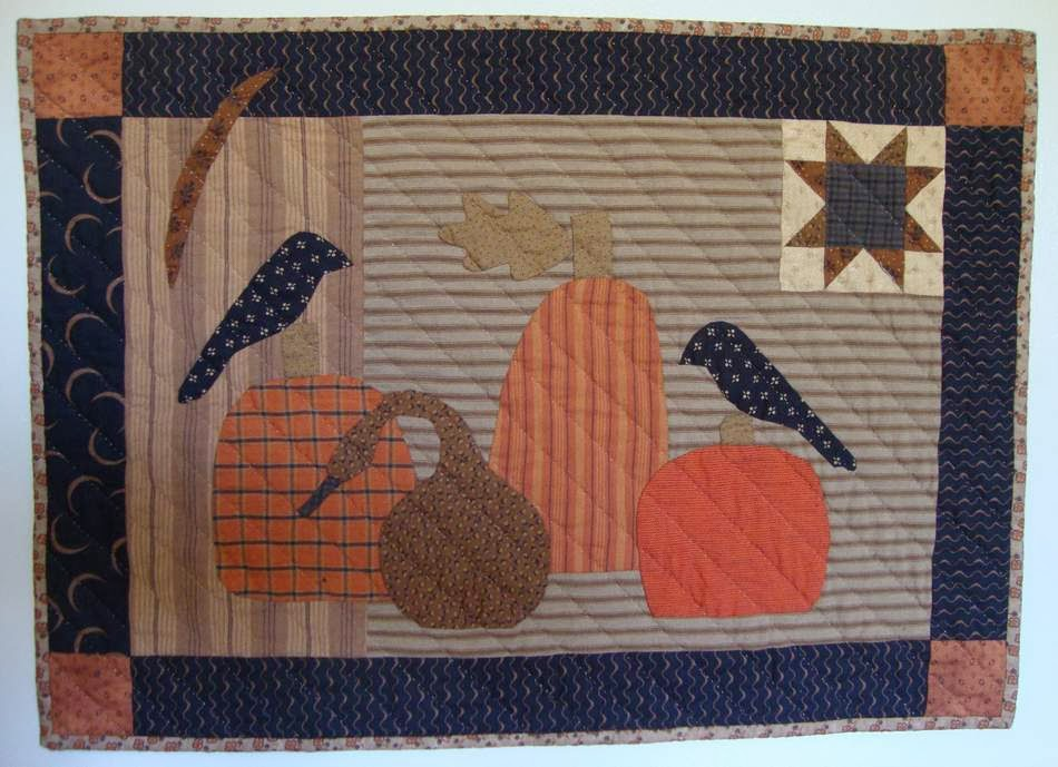 Pumpkins & Crows Quilt