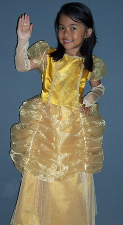 KSD-031 Kostum Princess Belle 1