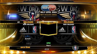 NBA 2K13 ESPN 3D Logos New Orleans Pelicans