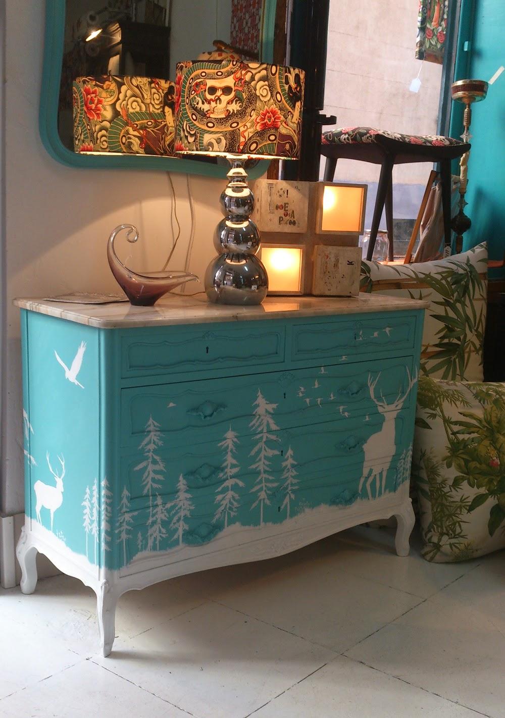 Muebles Personalizados C Moda Blue Ice La Tapicera # Muebles Tuneados