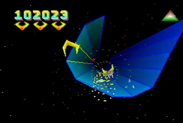 Tempest 2000 screenshot