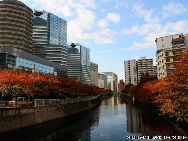 Beautiful Autumnal Scenes In Tokyo Most Beautiful Places In The World Download Free Wallpapers