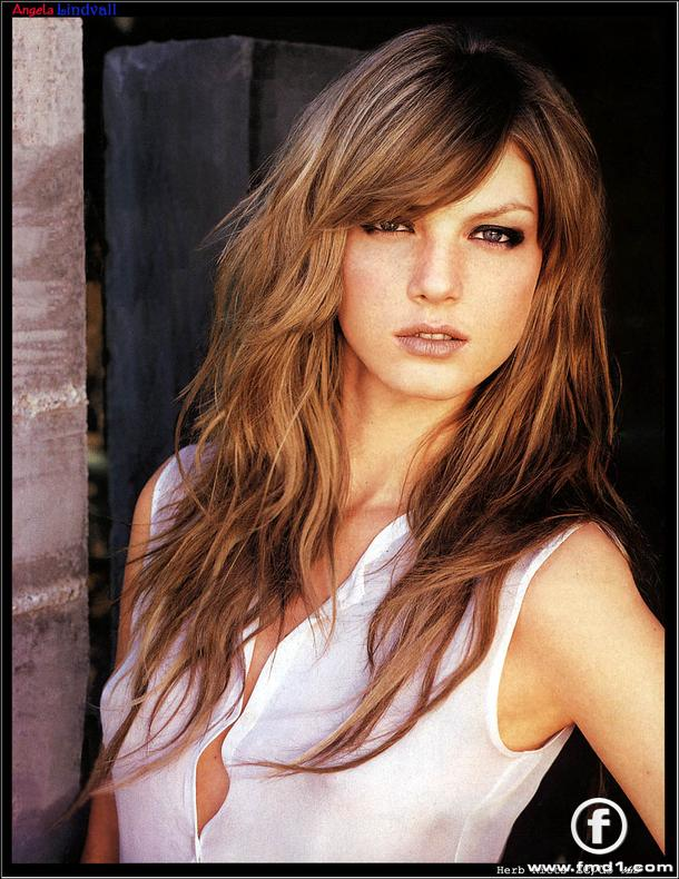 Angela Lindvall - Wallpaper Actress