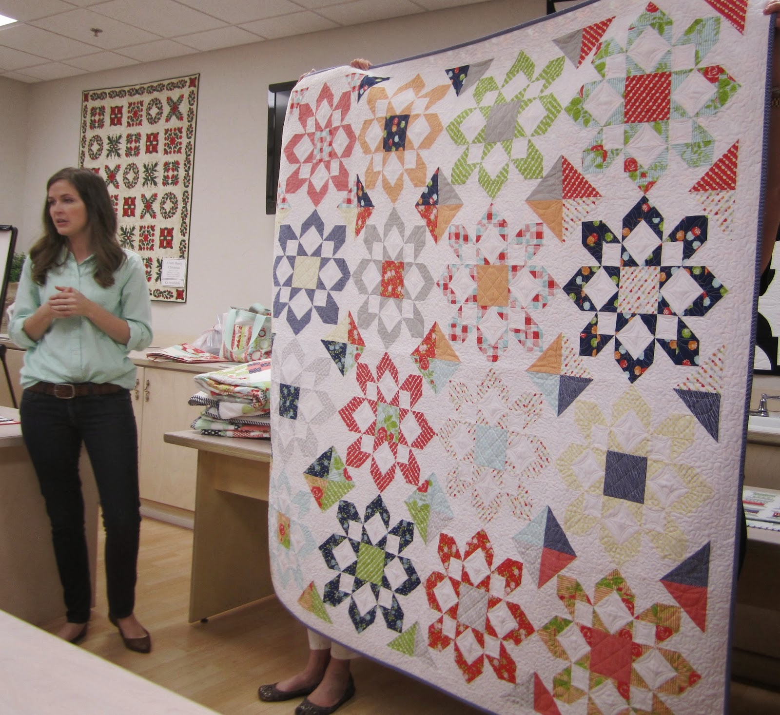 camille roskelley's fireworks quilt