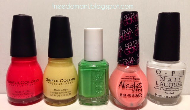 sinful colors thimbleberry sinful colors unicorn essie mojito madness nicole opi selena opi alpine snow