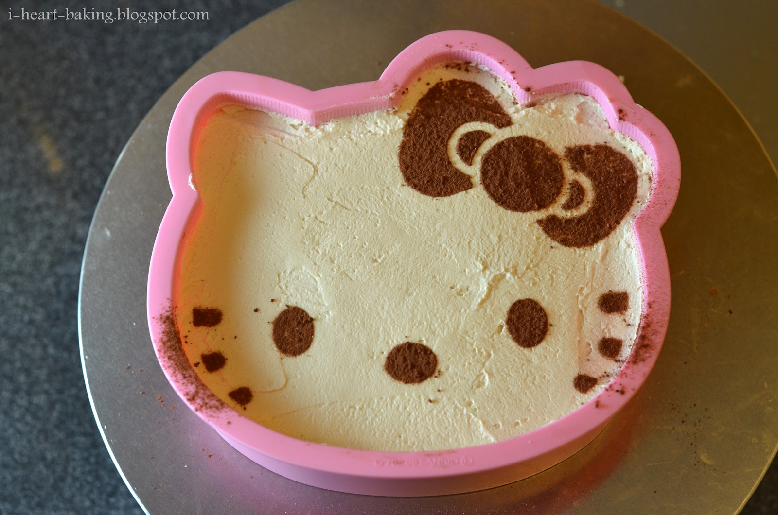 i heart baking!: hello kitty tiramisu cake