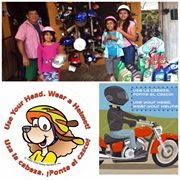 Donate to Isla Mujeres Helmets For Children! Click on the photo!