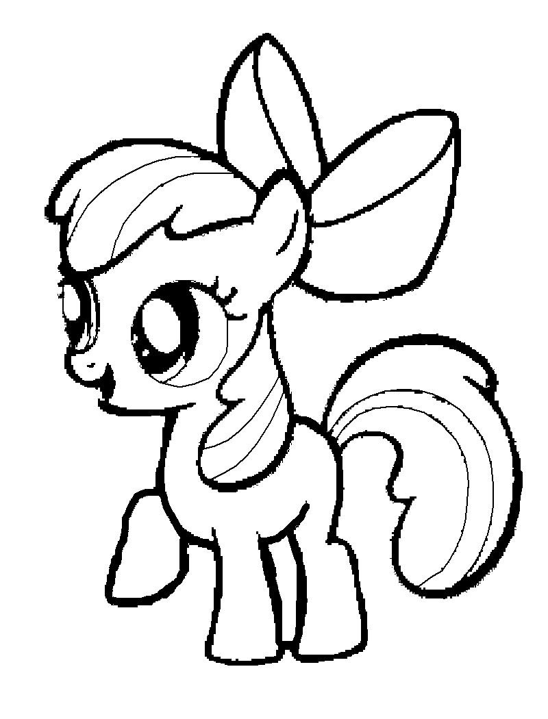 My little pony coloring pages bases - My Little Pony Coloring Pages Bases 40