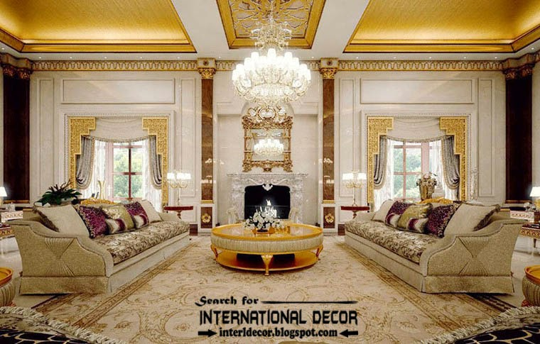 Luxury classic interior design decor and furniture for Classic decoration home