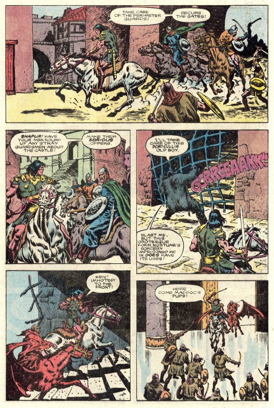 Conan the Barbarian (1970) Issue #184 #196 - English 12