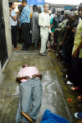 Man crushed to death by mast during heavy rain