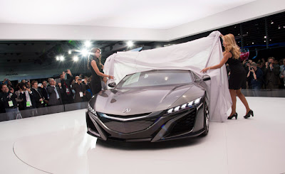 2015 Acura NSX Coupe Review