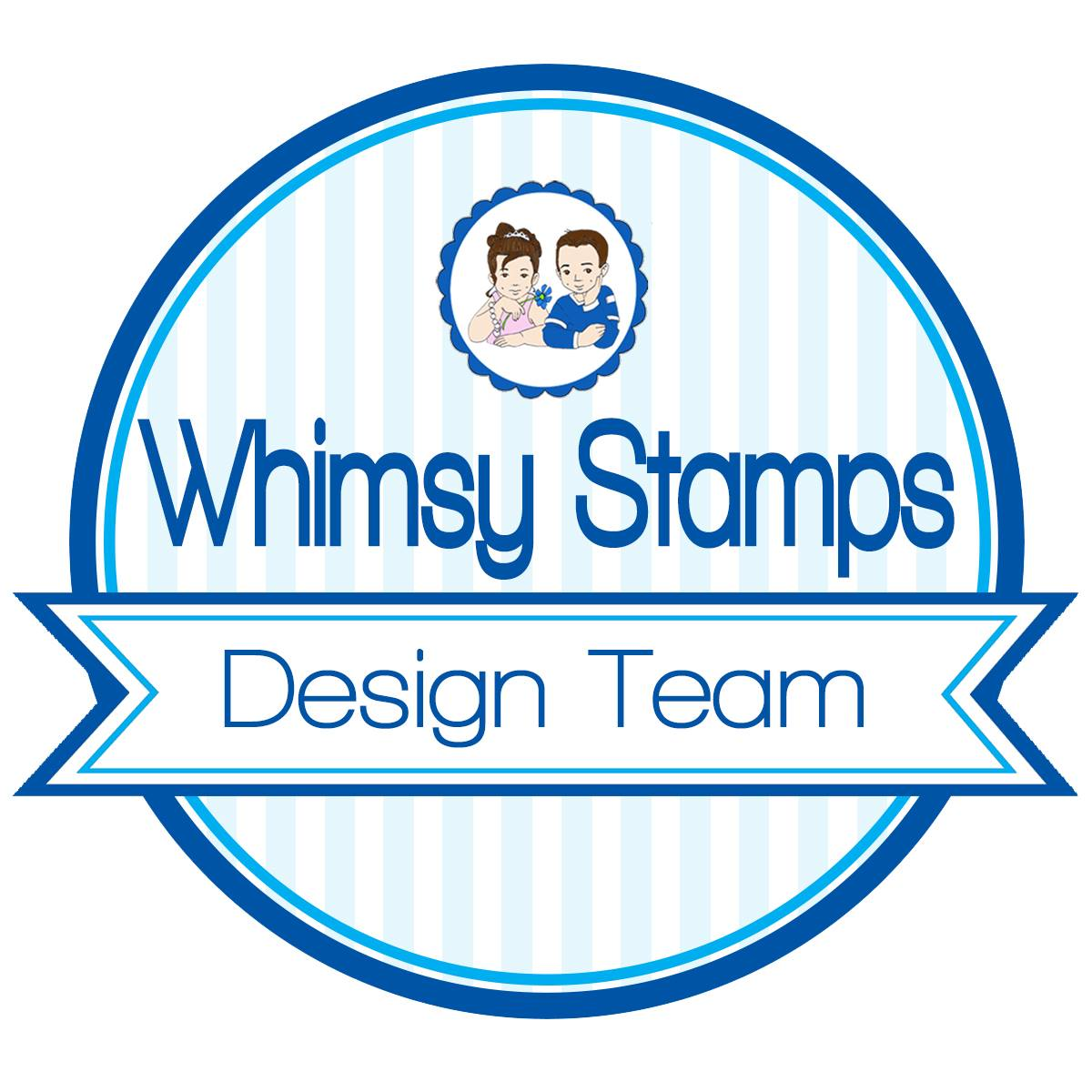 Proud Designer For Whimsy Stamps - Digital Team