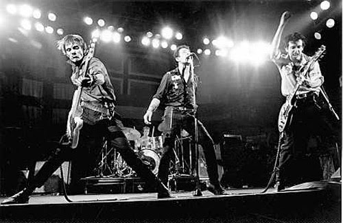 The Clash were a punk rock band from London, England, United Kingdom, active from 1976 to 1985. http://www.jinglejanglejungle.net/2015/01/uk5.html #TheClash