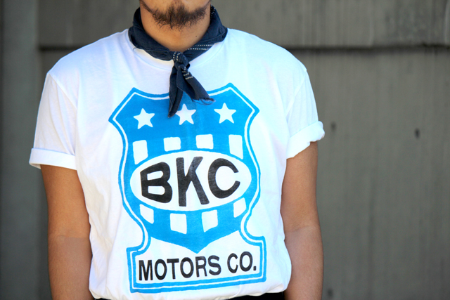 "The Brooklyn Circus ""BKc Motors Co. Badge Tee"" size S 6,264yen"