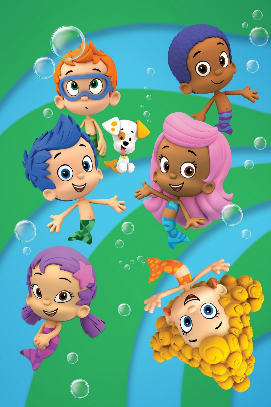 Bubble Guppies Nickelodeon Cartoon
