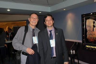 Dr. Luis Argés junto al Ing. Alejandro Rabuffetti, de la RED IBERBLH, Río de Janeiro