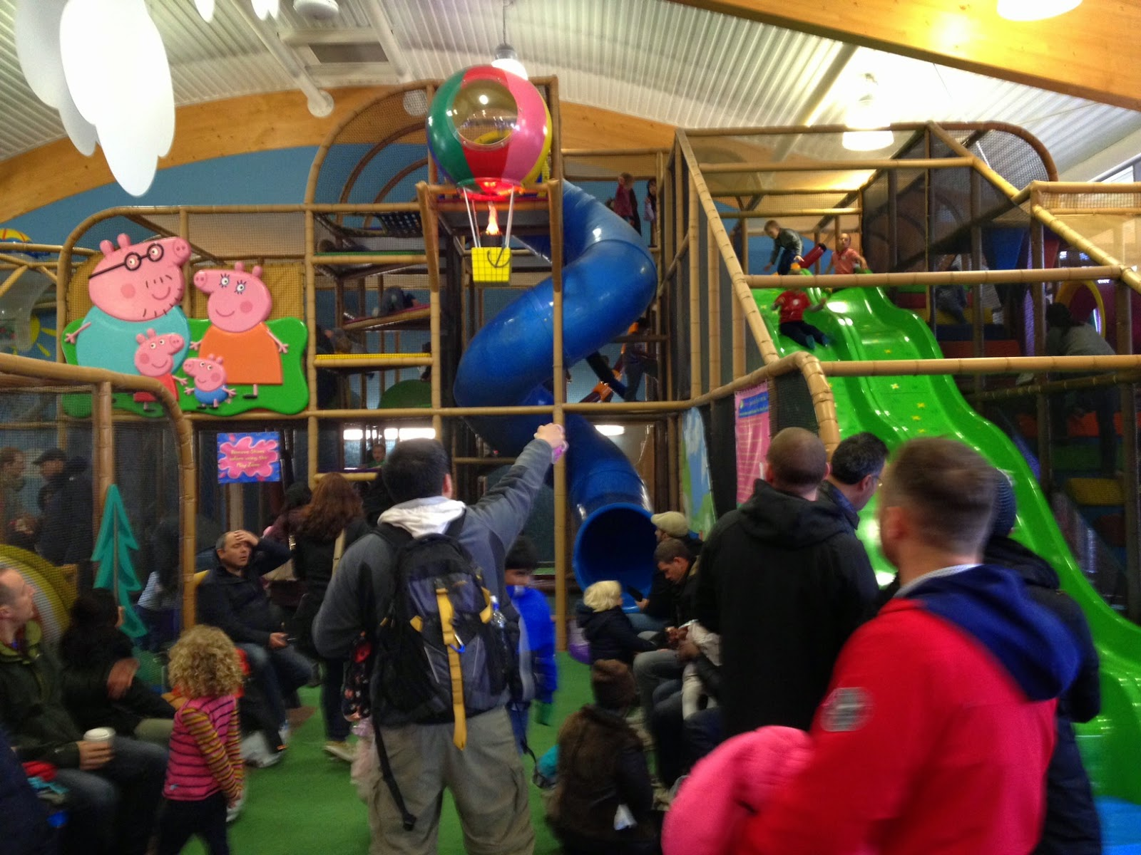 George's Spaceship Playzone at Peppa Pig World