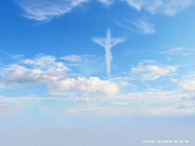藍光計畫 聖母像 天空現聖母像 美啟動藍光計畫
