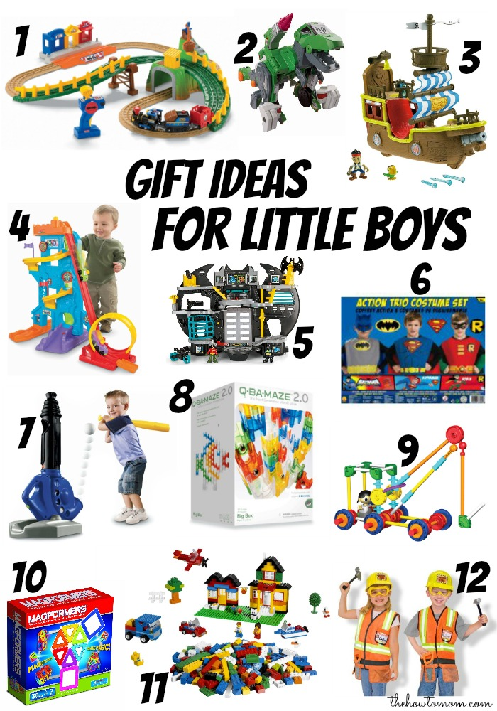 Christmas Gifts Ideas For Boys Part - 39: Christmas Gift Ideas For Little Boys Ages 3 6 The How