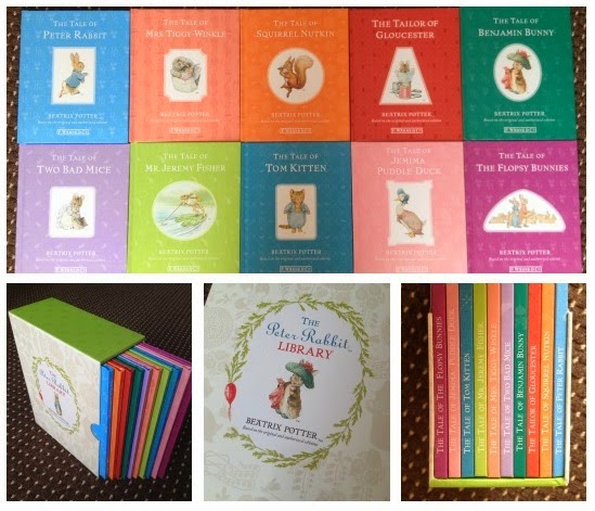 Yorkshire Blog, Mummy Blog, Parent Blog, Peter Rabbit, The Peter Rabbit Library, Review, The Works, Books Children's Books,