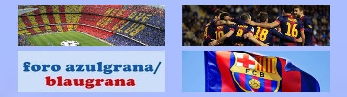 foro azulgrana/blaugrana