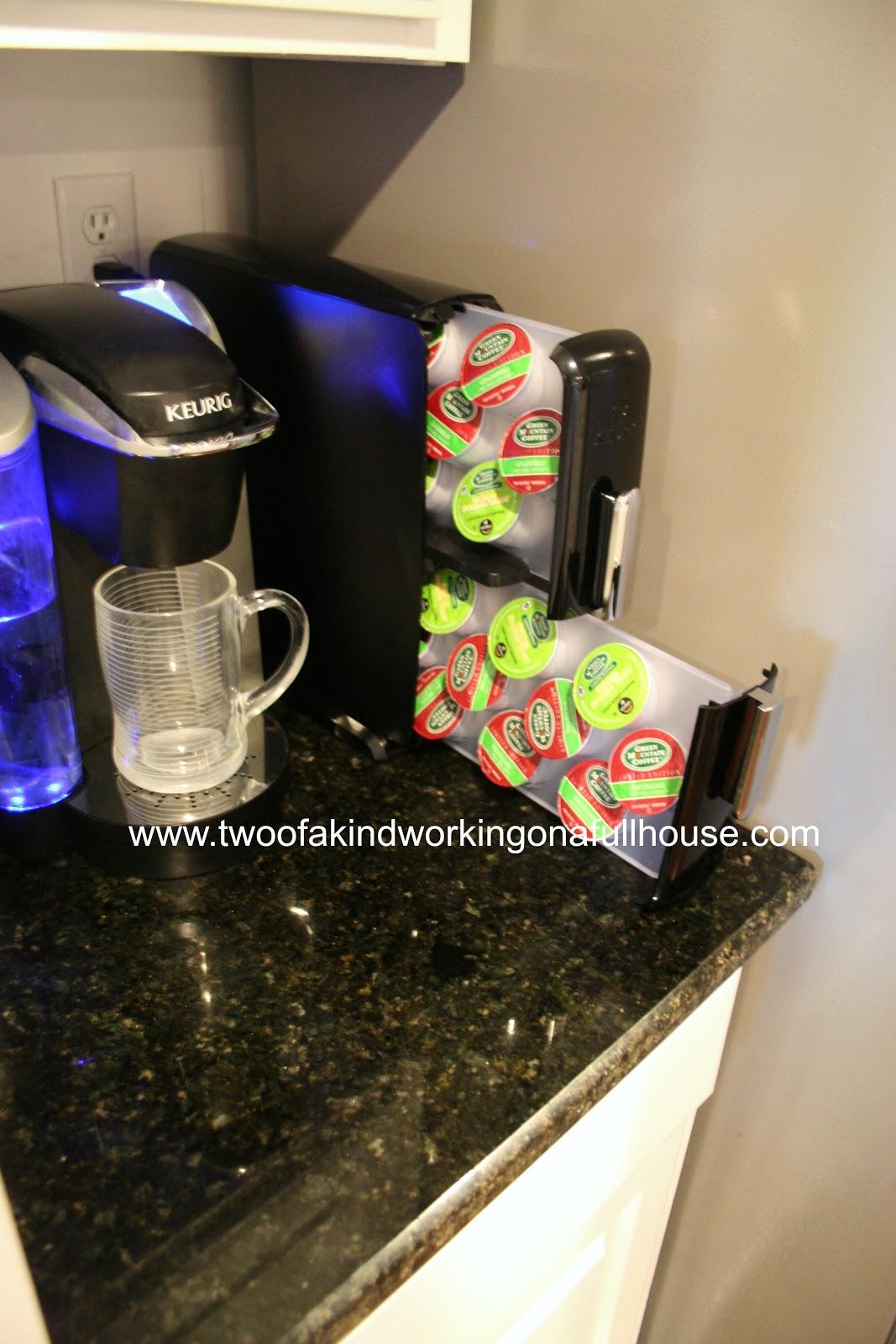 Keurig K Cup Pack Countertop Storage Drawer Giveaway