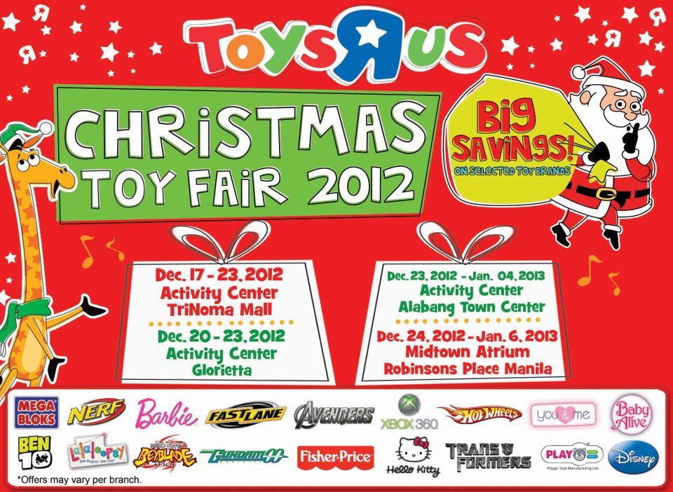 Toys R Us Christmas : Toys r us christmas toy fair makisale