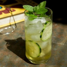 how to make cucumber cocktail recipe