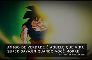 imagem do Goku virando super Sayajin pois Kuririn morreu