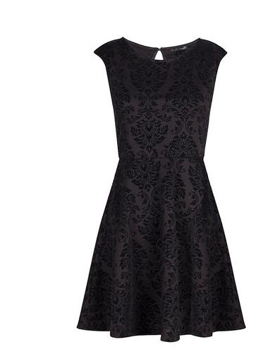Vestido negro Navidades