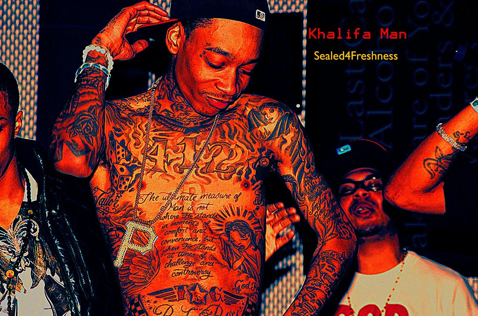 Wiz Khalifa Tattoos Gallery
